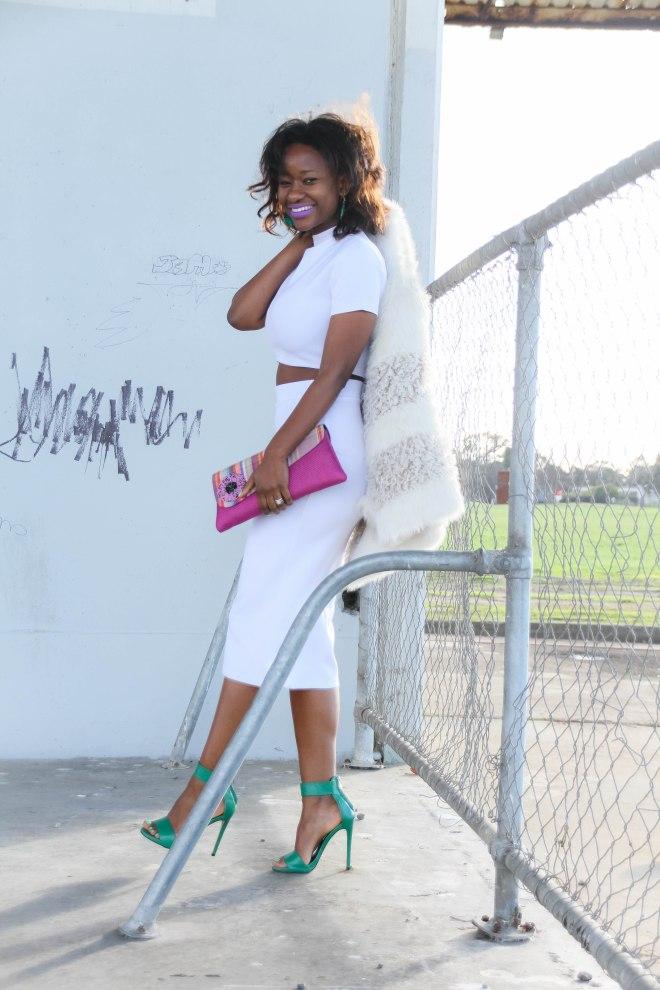 melbourne blogger-fashion stylist melbourne -zimbabwean blogger -zimbabwean stylists-lentendre-white look - two piece4